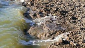 Пакостные поток и загрязнение окружающей среды сточных водов, акции видеоматериалы