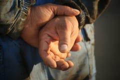 Пакостные руки Стоковое Изображение RF