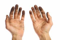 Пакостные руки Стоковые Изображения
