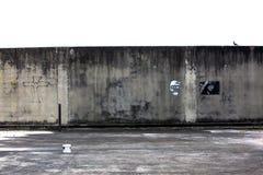 Пакостные стены Стоковые Фото