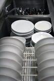 пакостные тарелки Стоковые Изображения