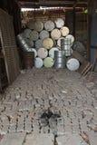 Пакостный барабанчик масла Стоковое фото RF