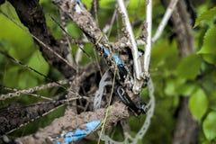 Пакостный велосипед Стоковое фото RF