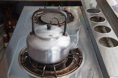 Пакостный крупный план газовой горелки Стоковые Фото