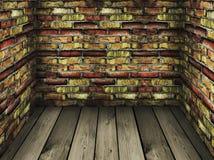 пакостный сбор винограда комнаты Стоковые Фотографии RF