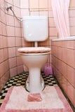 пакостный туалет Стоковое Фото