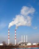 пакостный дым проблем экологичности Стоковые Изображения