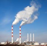 пакостный дым проблем экологичности Стоковая Фотография RF