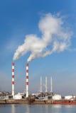 пакостный дым проблем экологичности Стоковое Фото