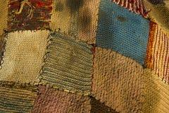 Пакостный knit заплатки Стоковая Фотография