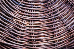 Пакостный weave корзины Стоковые Изображения