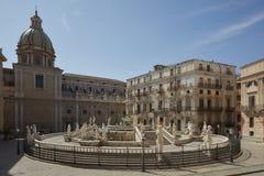 Палермо, аркада Претория стоковые фото