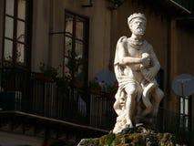 Палермо, Сицилия, Италия 11/04/2010 Фонтан Претории стоковые фото