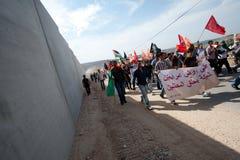 палестинец активизма ненасильственный стоковое фото