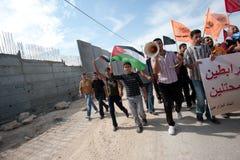 палестинец активизма ненасильственный стоковое фото rf