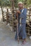 Палестинский чабан Стоковая Фотография
