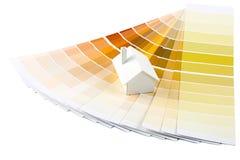 палитра модели дома цвета Стоковые Фотографии RF