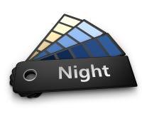 палитра ночи цвета Бесплатная Иллюстрация