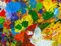 палитра предпосылки художников живая Стоковая Фотография RF