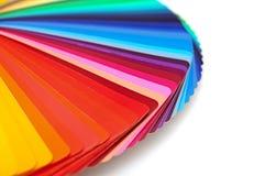 Палитра цвета радуги Стоковое фото RF