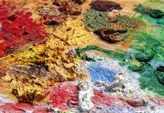 палитра цвета Стоковые Изображения RF
