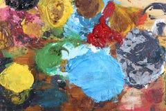 палитра цвета Стоковые Фотографии RF