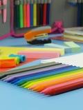 Палитра crayons Стоковое Изображение RF