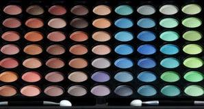 палитра eyeshadows Стоковая Фотография RF