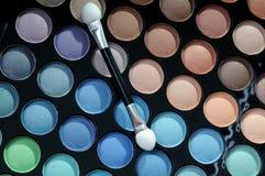 палитра eyeshadows Стоковое Изображение RF