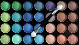 палитра eyeshadows Стоковое фото RF
