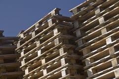 паллеты деревянные Стоковое фото RF