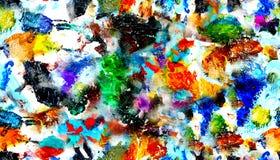паллет краски предпосылки Стоковая Фотография RF