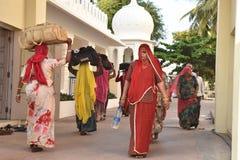 Паломничество & Dharamshala в Индии стоковая фотография