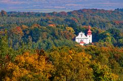 паломничество kvetnov церков Стоковое фото RF