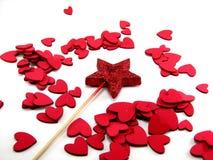 палочка звезды сердец Стоковое Фото