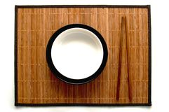 палочки dish японцы Стоковые Фото
