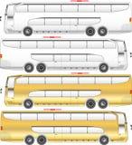Палуба двойника вектора шины бесплатная иллюстрация