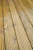 палуба деревянная Стоковая Фотография