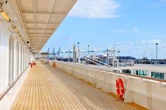 Палуба кристаллического туристического судна спокойствия открытая в Майами стоковые изображения
