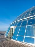 Палуба обсерватории Perlan, Рейкявика, Исландии стоковая фотография rf
