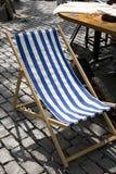палуба стула Стоковое Изображение RF