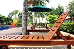 палуба стула Стоковая Фотография RF