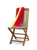 палуба стула Стоковые Изображения RF