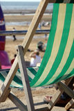 палуба стула Стоковое Изображение
