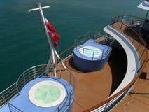 палуба s крейсера Стоковая Фотография RF