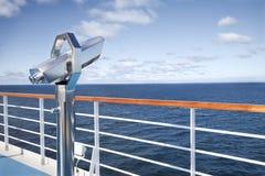палуба s круиза биноклей Стоковая Фотография RF