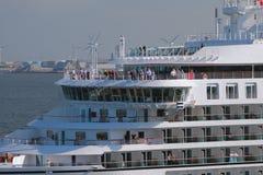 Палубы вкладыша круиза copenhagen Дания стоковое фото rf