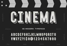 Пальмира кино 3d современная бесплатная иллюстрация