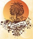 пальмы grunge Стоковое фото RF