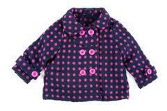 пальто младенца теплое стоковое фото rf